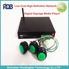 RDB Low Cost High Definition Network Digital Signage Media Player for advertising DS009-117