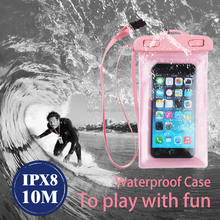 cheap pvc phone waterproof case/cell phone waterproof dry bag/floating waterproof phone bag