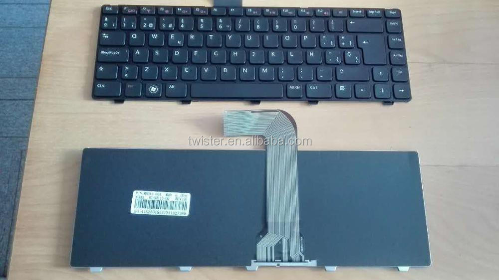 keyboard for New For De-ll Inspiron 14 N4050 14R 5420 N4110 15 N5040 N5050 spanish Latin Keyboard