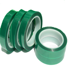 Green Color High Temperature PET Film Splicing Silicone Tape