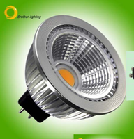 500LM LUMINOUS INTENSITY LED MR16 7W COB 12VAC/DC