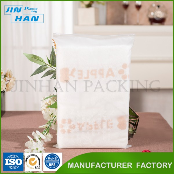 Custom Printed LDPE Plastic Zipper Bags Poly Ziplock Bags Pe Packaging Bag