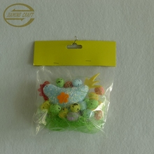 handmade decorative easter chicken/easter chick with egg