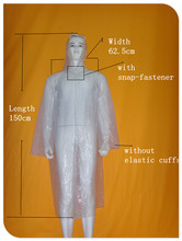 China's Alibaba Polyester Disposable Water Proof Plastic Rain Suit