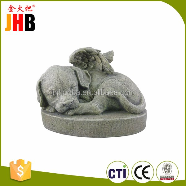 Resin Pet Memorial Stone for Garden Decor