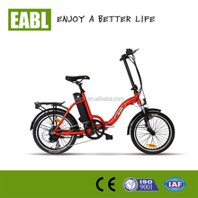 Folding Electric Bicycle with Light weight high speed brushless motor