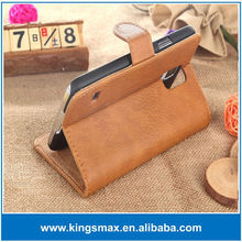 Genuine leather case China Supplier Wallet Design Cover Pu Leather Mobile Phone Case