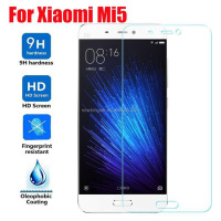 9H Hardness Explosion Proof Premium tempered glass screen protector for xiaomi mi5