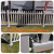 Fentech Design High quality Australia style plastic PVC Temporary fence panels