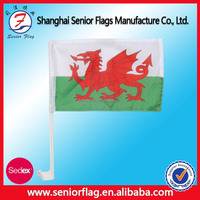 Good Fabric Customize Car Window Flag