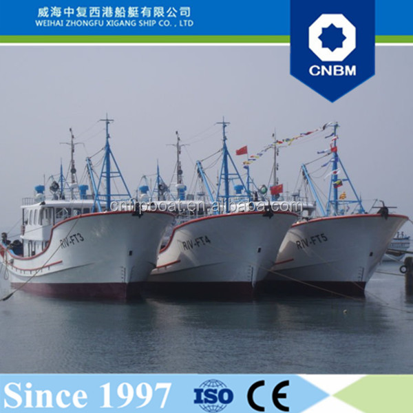 30.08m 99ft China Manufacture New Commerical Best Fiberglass FRP Fishing Boat Vessel Ocean Going Trawlers for Sale