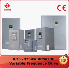 CE/FCC 0.75-315KW 380V 50/60Hz 3-Phase VFD Drive / Variable Frequency Converter