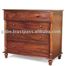 COLONIAL LARGE CHEST OF DRAWERS