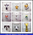 Selling a variety of hot animal wall ornaments