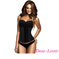 Wholesale High Quality Black 4 Steel Bones Latex Under Bust Corset For Women