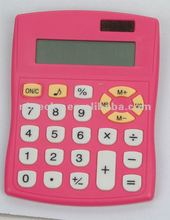 Plastic electronic solar desktop office calculator