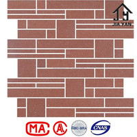 Water absorbing slip proof ceramic mosaic wall tiles