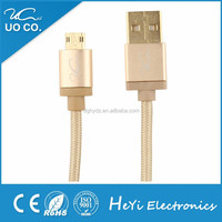 Heyi New arrival high speed usb cable for Galaxy and Android smart phones