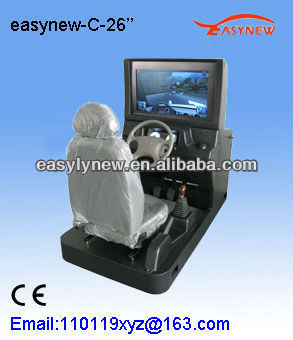 The driving simulator with CE certificate for both driving school and personal use