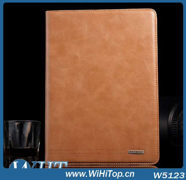 Rich Boss Brand Genuine Leather Case Cover For iPad Air 5