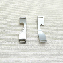 Aluminum scutcheon die casting metal nameplate label,company LOGO name tag