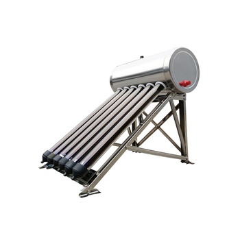 Ce certification stainless steel Mini portable solar water heater