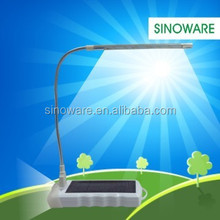 New Design Solar Reading Lamp With Solar Charger For iPhone 5 With Flashlight, Solar Reading Light Indoor and Outdoor