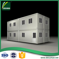 DESUMAN mobile garage bar office hotel restaurant flat pack used modular shipping container van frames homes for sale