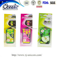 New arrival rose scent oil wick car air freshener OEM