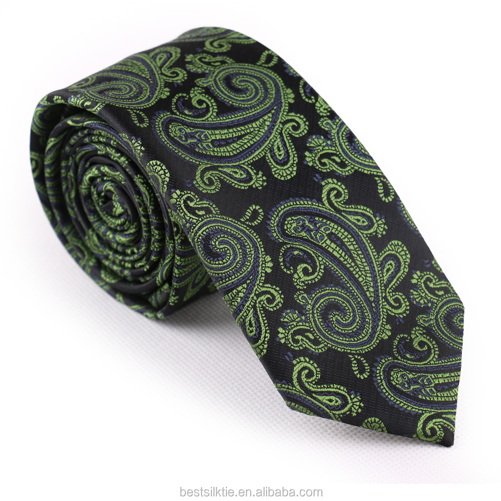 Tailor Smith Promotional Paisley Jacquard Woven Mens Silk Tie