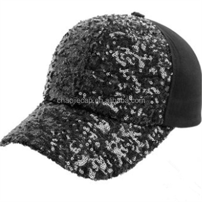 Bling Bling sequins hat baseball Cap