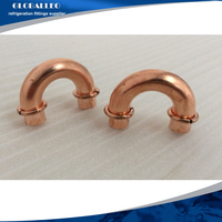180 degree elbow,copper fitting return bend /Air Confitioner Copper Pipe Fittings/Refrigeration Accessories copper pipe fitting