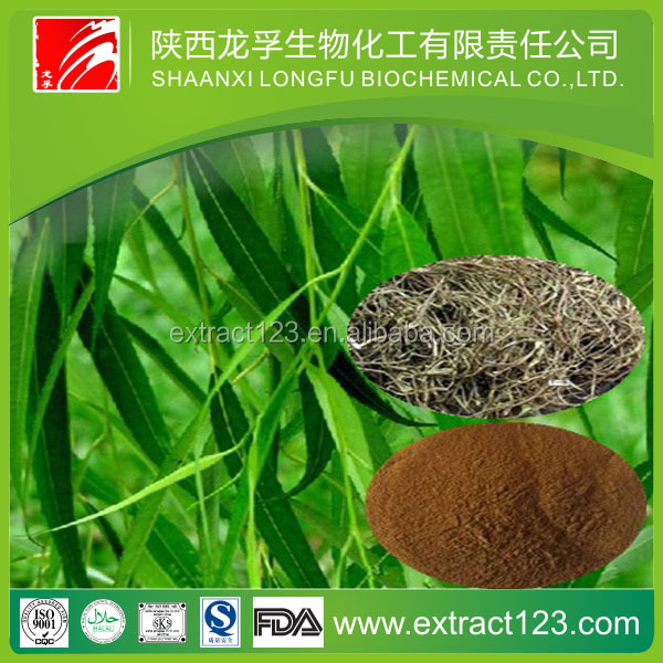 Alibaba supplier White willow bark extract 98% Salicin powder by HPLC