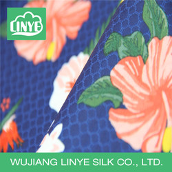 hot sale pretty anti-wrinkle fabric, patterned fabric for knee-length dress
