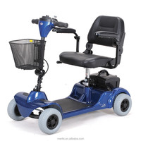 S549 4 wheel compact handicapped electric mobility scooter