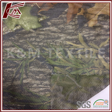 Outdoor Material Leaves Pattern MK Print 100% Polyester Mesh Fabric
