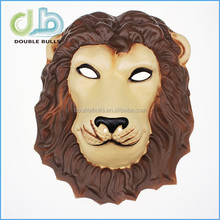 China factory high quality promotional plastic 3D eva animal horse mask for kids