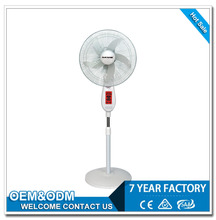 Competitive Price Cooling DC Solar Charging Floor electric fan motor