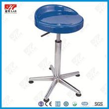 Pretty durable mental lab stool with back