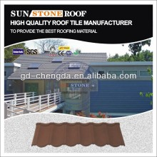 Chinese style stone coated roof tiles ceramic shingle
