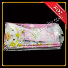 waterproof pvc pouch/pvc pencil bag/pencil bag