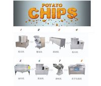 small scale potato chips machine/ potato sticks making machine/french fries production line