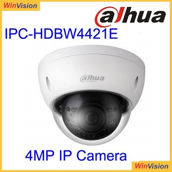 Have large stock New Dahua 4Mp CMOS WDR IP Vandal-proof IR Mini Dome Camera With Smart Detection Function IPC-HDBW4421E