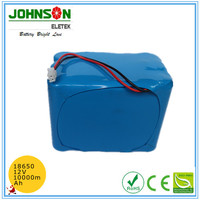 customized OEM 10ah 18650 battery pack lithium ion battery manufacturers