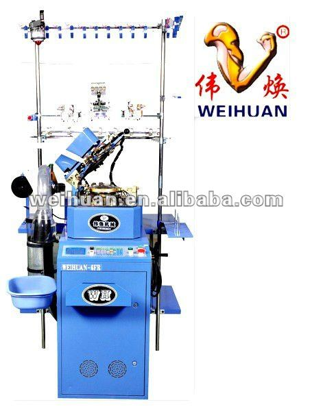 WH-6F-C3 special-made automatic hosiery machine for making terry pantyhose(4.5 inch)