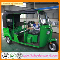 2014 Cheap Popular New Hot Gasoline Passenger tricycle from india/indian bajaj/ tuk tuk rickshaw for sale with Soncap approved