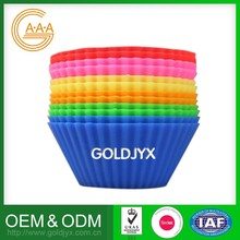 Best-Selling Custom Oem Muffin Mold Wholesale High Quality Cups Silicone Cake Molds