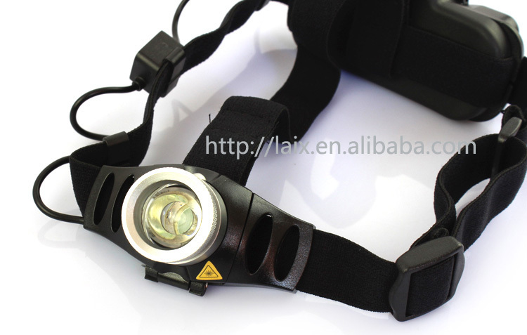 LAIX H261 high power cree led headlamp outdoor camping portable auto rechargeable led headlamp adjustable focus zoom headlamps