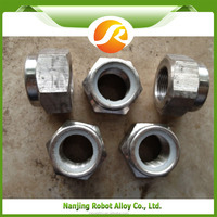 Hastelloy B2 stainless steel nut bolt manufacturing process , m38 hex nut , guardrail nut and bolts