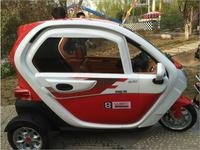 Three wheel electric automobile fully closed electric car for the elderly electric scooter